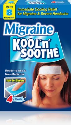 Fever patches be koool migraine