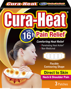 Direct to Skin Neck and Shoulder Pain